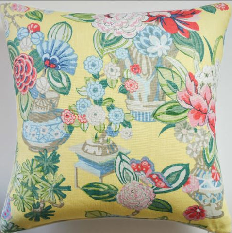 Bouquet Chinois Pillow - Ryan Studio