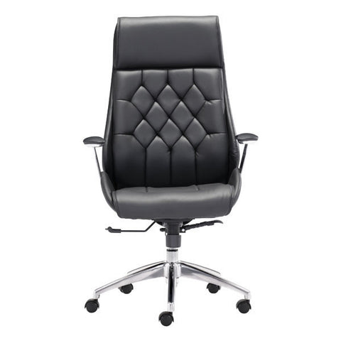 Boutique Office Chair Black - Zuo Modern