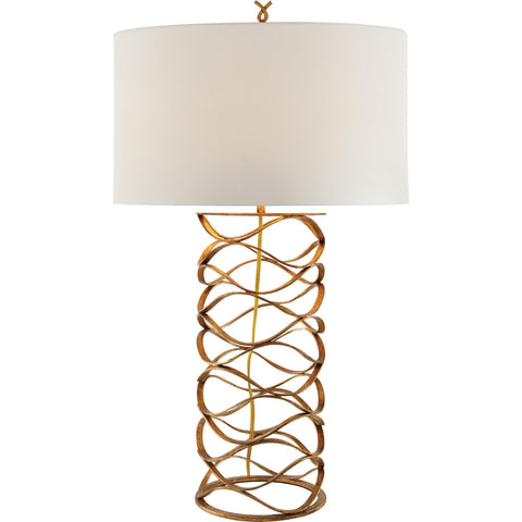 Bracelet Gilded Iron Table Lamp - Visual Comfort