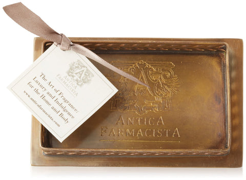 Brass Plated Bath Tray - Antica Farmacista