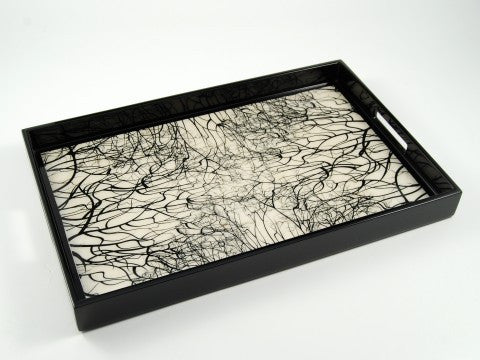 Roots Paper Inlay Breakfast Tray - Pacific Connections