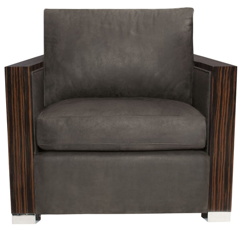 Bridges Leather Chair - Bernhardt