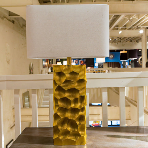 Brushed Gold Apollo Lamp - Regina-Andrew Design