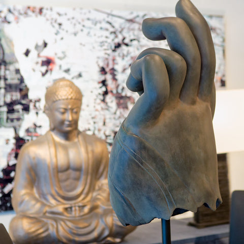 Buddha Hand, Bronze - Phillips Collection