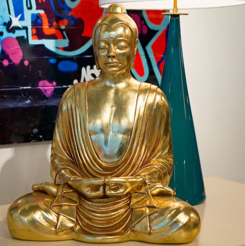 Levitating Buddha Gold Leaf - Phillips Collection
