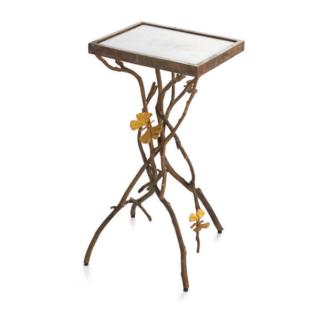 Butterfly Ginkgo Accent Table - Michael Aram