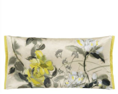 Lisse Buttermilk Decorative Pillow - Designers Guild