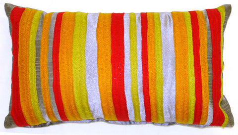 Whimsy Winter Garden Pillow - Sabira Collection