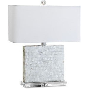 Mother of Pearl Crystal Lamp - Regina-Andrew Design