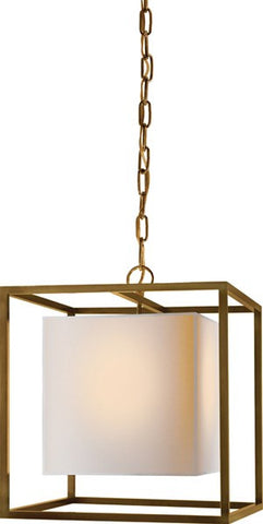 Caged Small Lantern - Visual Comfort