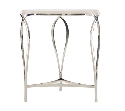 Calista Metal Round Accent Table - Bernhardt