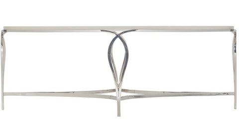 Calista Metal Oval Cocktail Table - Bernhardt Furniture
