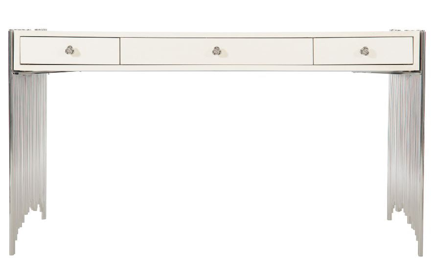 Sensational Calista Metal Desk Bernhardt Luxe Home Philadelphia Gmtry Best Dining Table And Chair Ideas Images Gmtryco