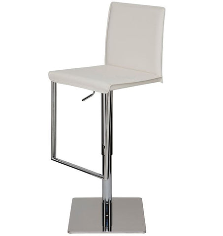 Cameron Adjustable Leather Stool - Nuevo
