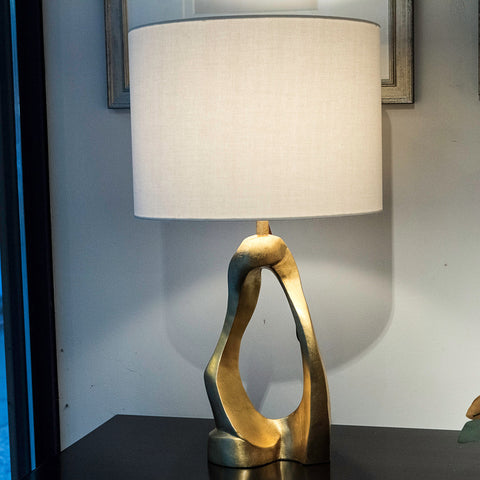 Cannes Gold Gild Table Lamp - Visual Comfort