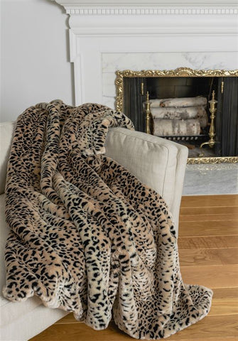 Cheetah Signature Throw - Fabulous Furs