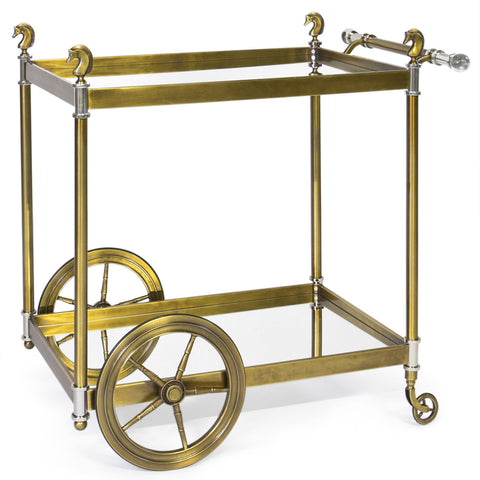 Cheval Bar Cart - Jonathan Adler