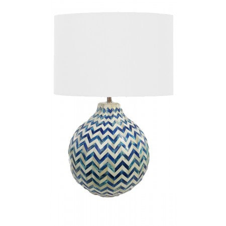 Chevron Bone Lamp - Regina-Andrew Design