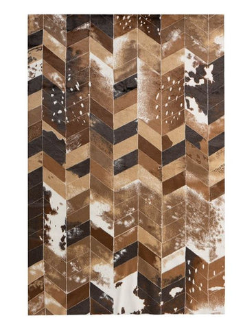 Chevron Hide Rug - Fabulous Furs