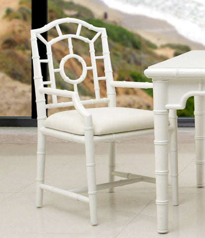 Chloe Armchair, White - Bungalow 5