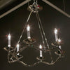 Choros Polished Nickel Chandelier - Visual Comfort