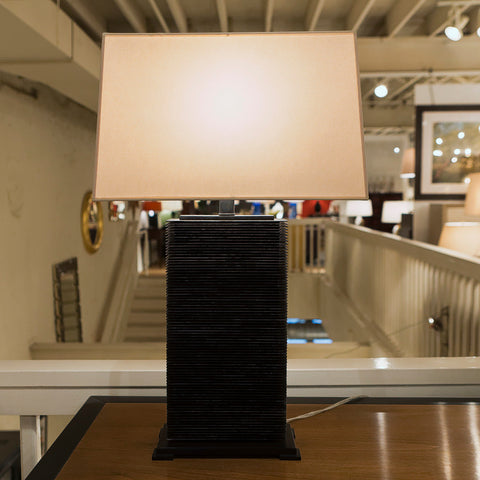 Convector Rectangle Table Lamp - Visual Comfort