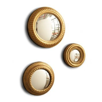 Convex Mirror Set of Three - Two's Company
