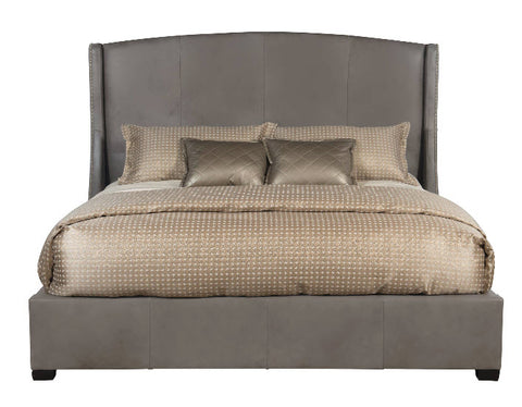 Cooper Leather Queen Wing Bed 54