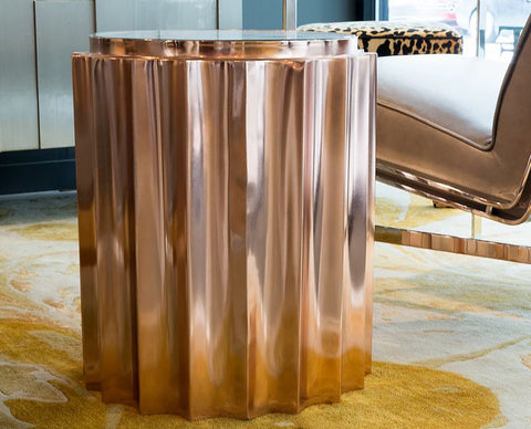 Fluted Column Table - Global Views