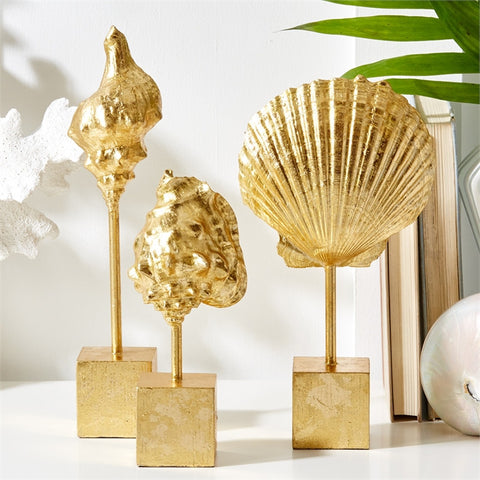 Coquillage D'or Standing Shells - Tozai Home
