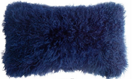 Tibetan Lamb Wool Pillow 11