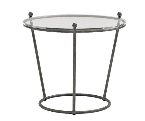 Cortland Round Metal End Table - Bernhardt Furniture