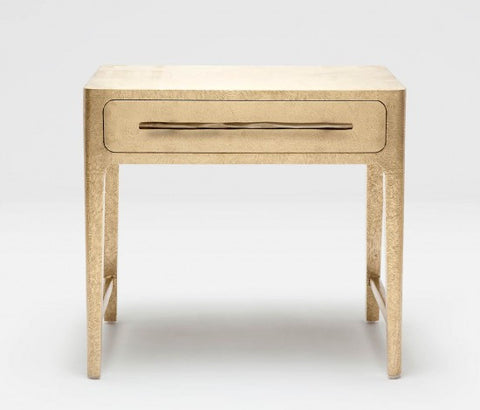 Cossette Nightstand Double Gold - Made Goods