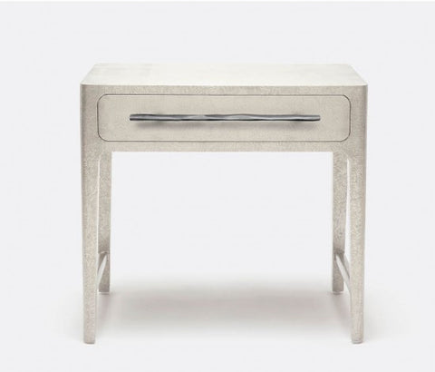 Cossette Nightstand Double Silver - Made Goods