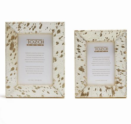 Golden Cowhide Frame - Tozai Home