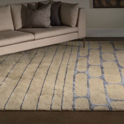 Presley Rectangular Nylon Low Pile Rug - Creative Accents