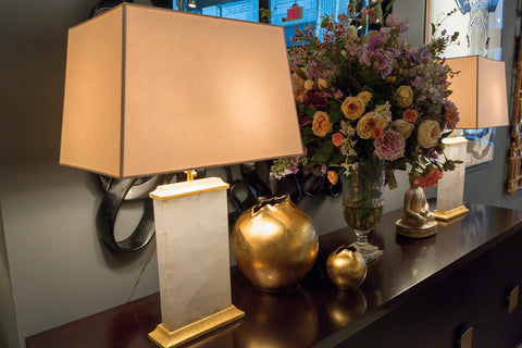 Crescent Table Lamp, Quartz - Visual Comfort