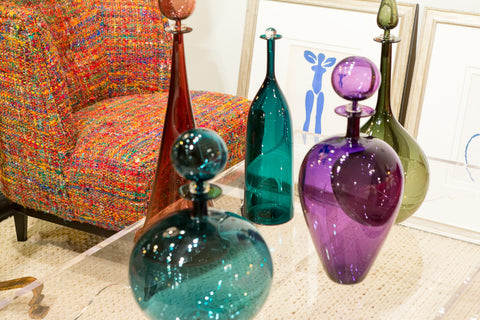 Crimson, Purple, Blue....EMOTIONAL COLORS....change your mood at home!