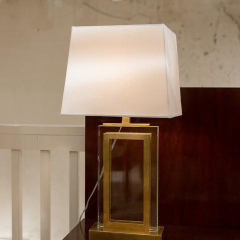 Crystal Panel Table Lamp - Visual Comfort