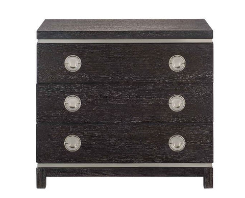 Decorage Three Drawer Nightstand - Bernhardt Furniture