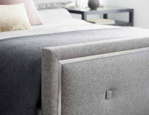 Decorage Upholstered Panel Bed - Bernhardt Furniture