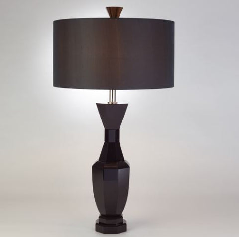 Crystal Urn Lamp, Black - Global Views
