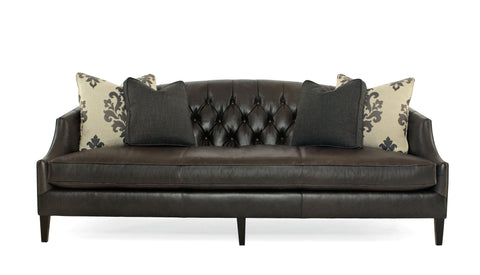 Diane Sofa Leather - Bernhardt Interiors