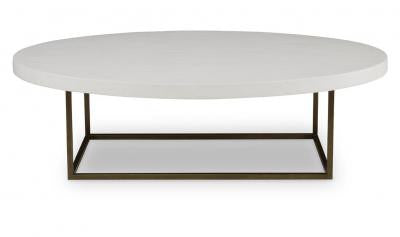 Diego Coffee Table Smooth White Gesso - Mr. Brown London