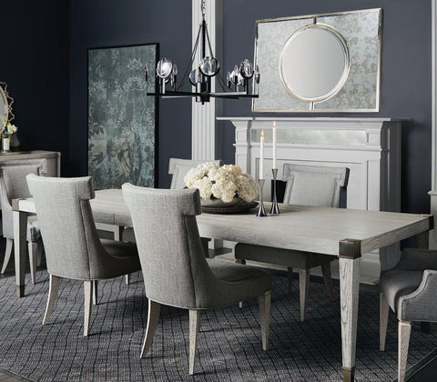 Domaine Blanc Dining Leg Table - Bernhardt Furniture