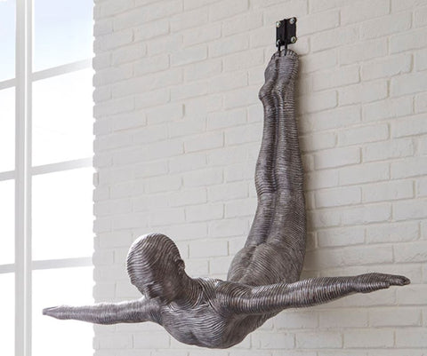 Diving Wall Sculpture - Phillips Collection
