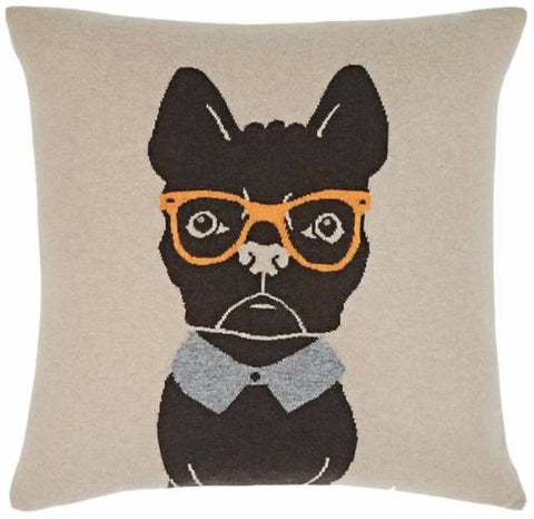 Cashmere Blend Dog Pillow - Rani Arabella