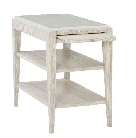 Domaine Blanc End Table - Bernhardt Furniture