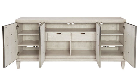 Domaine Blanc Entertainment Console - Bernhardt Furniture