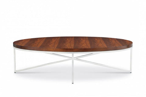Domicile Cocktail Table With Walnut Top - Bolier & Co.